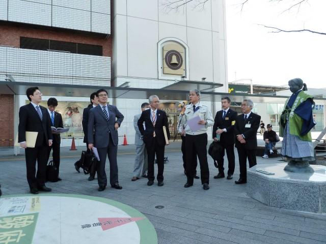 杉久武 経済産業委員会視察(静岡市)