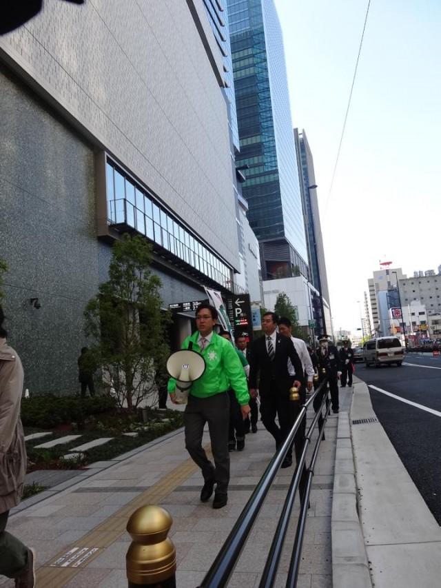 新しい街を歩きます!(4月28日、大阪駅周辺)