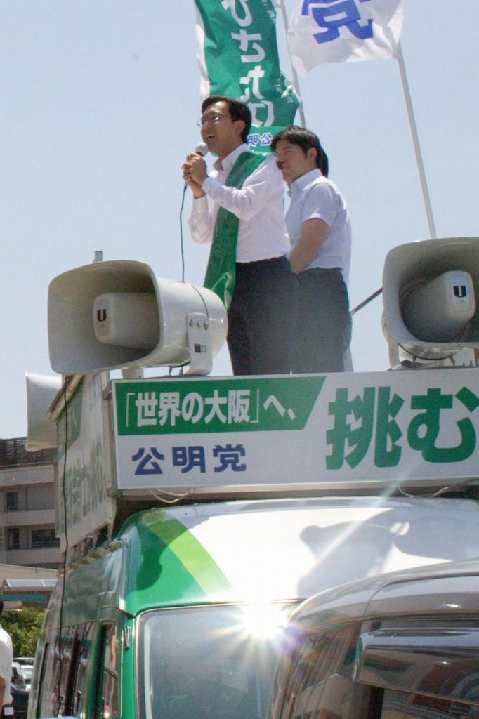 (6月16日、泉南市内にて)